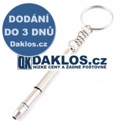 4v1 Univerzální šroubovák přívěsek / klíčenka