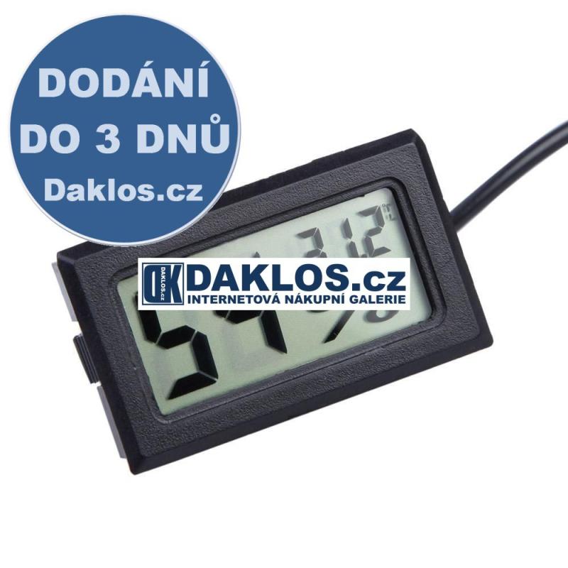 Digitální LCD Vlhkoměr / Teploměr