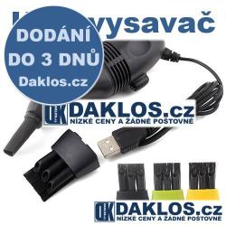 Mini USB vysavač na klávesnici - více barev