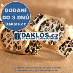 Dámské leopardí náramkové hodinky - 2 varianty