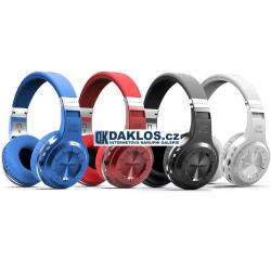 Bluetooth bezdrátová sluchátka Bluedio s ovládáním