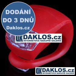 LED světlo na kolo (zadní červené)