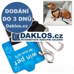 Bezpečnostní pás pro mazlíčky (Psy, Kočky,...)