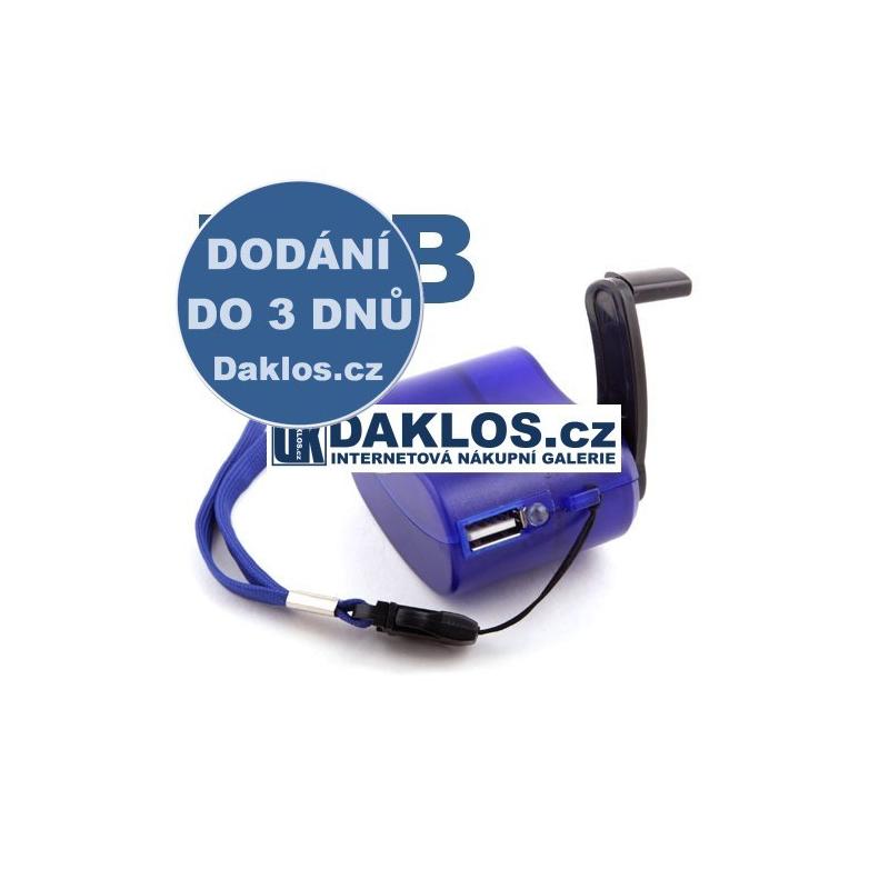 Externí USB nabíječka / DYNAMO / pro mobil / tablet
