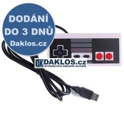 Retro USB ovladač pro hry / Gamepad / Joystick