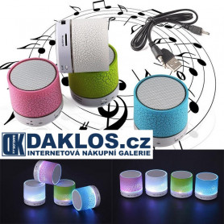 Svíticí Bluetooth reproduktor