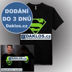 Noční světelné tričko / triko - Superman